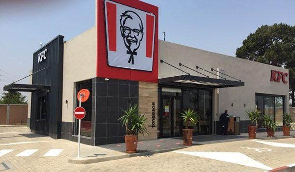 Travaux de finition KFC